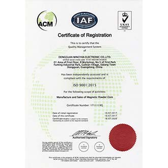 ISO证书ying文